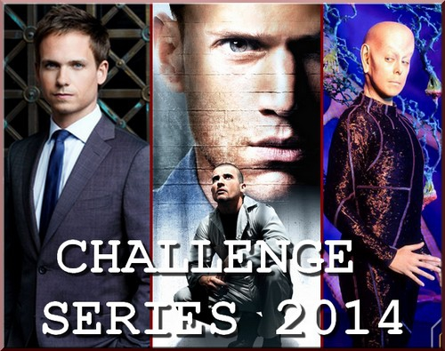 challenge séries, prison break, highlander, jericho, suits, the good wife