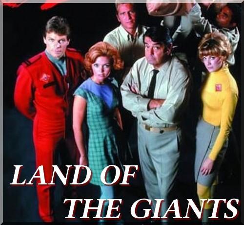 Land of the giants, au pays des géants, irwin allen, au coeur du temps, voyage au fond des mers, lost, histoire des séries américaines