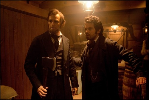 abraham lincoln,timur bekmambetov,vampires,fantastique,horreur,wanted