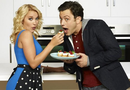 young & hungry, emily osment, miley cyrus, hannah montana, melissa & joey, sitcom