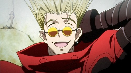 TRIGUN, vash the stampede, meryl strife, millie thompson, yasuhiro nightow, animés, western, cowboy bebop