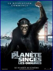 la planete des singes, pierre boulle, science-fiction, star trek, aliens, star wars, james franco, john lithgow, freida pinto, david hewlett, reboot, anticipation
