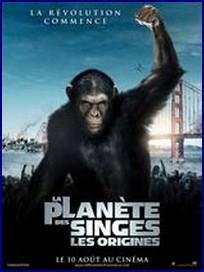 la planete des singes, pierre boulle, science-fiction, star trek, aliens, star wars, james franco, john lithgow, freida pinto, david hewlett, reboot, anticipation